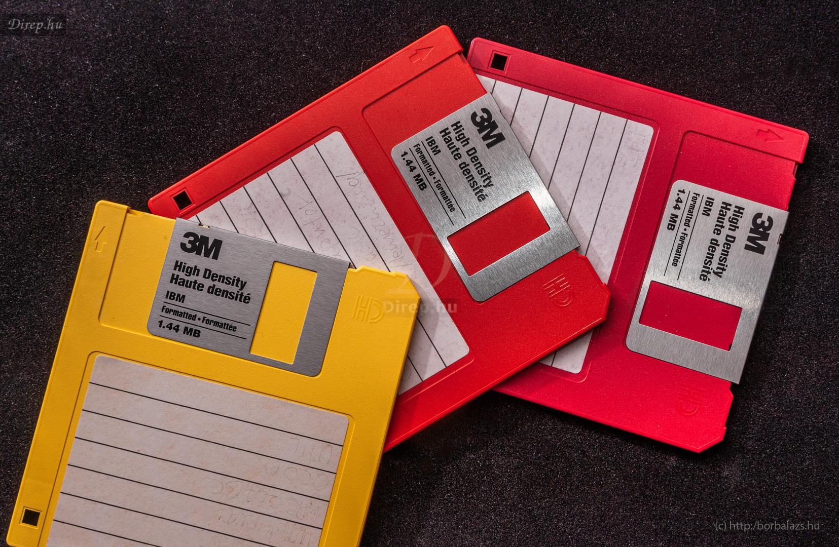 """3,5""""-os floppy lemezek"""