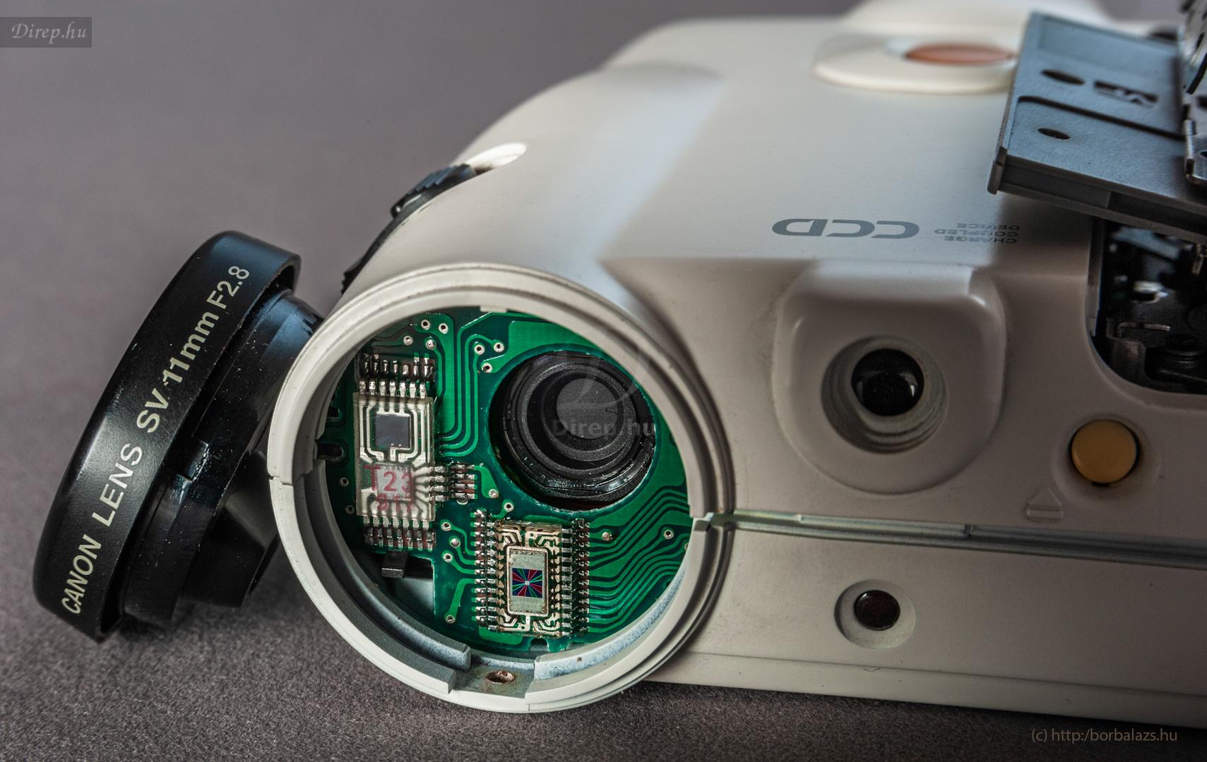 Canon ION RC-251 leszerelt objektívvel