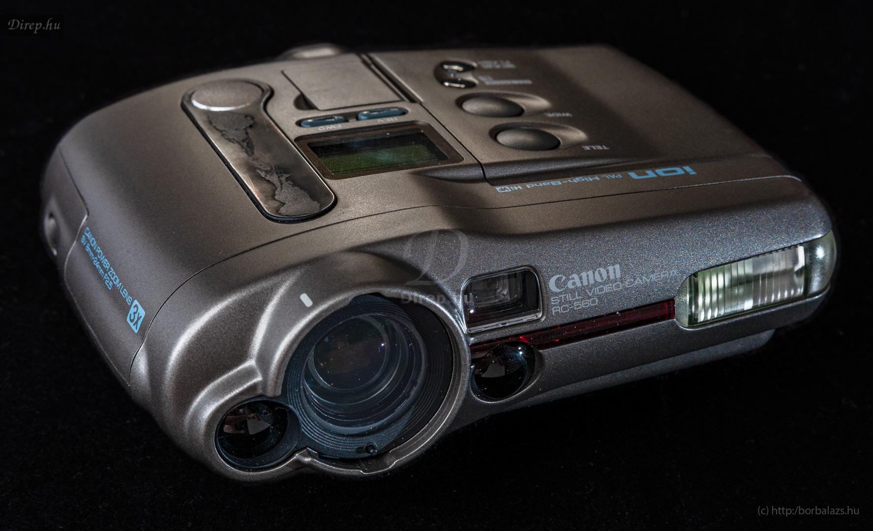 Canon RC-560 still video camera
