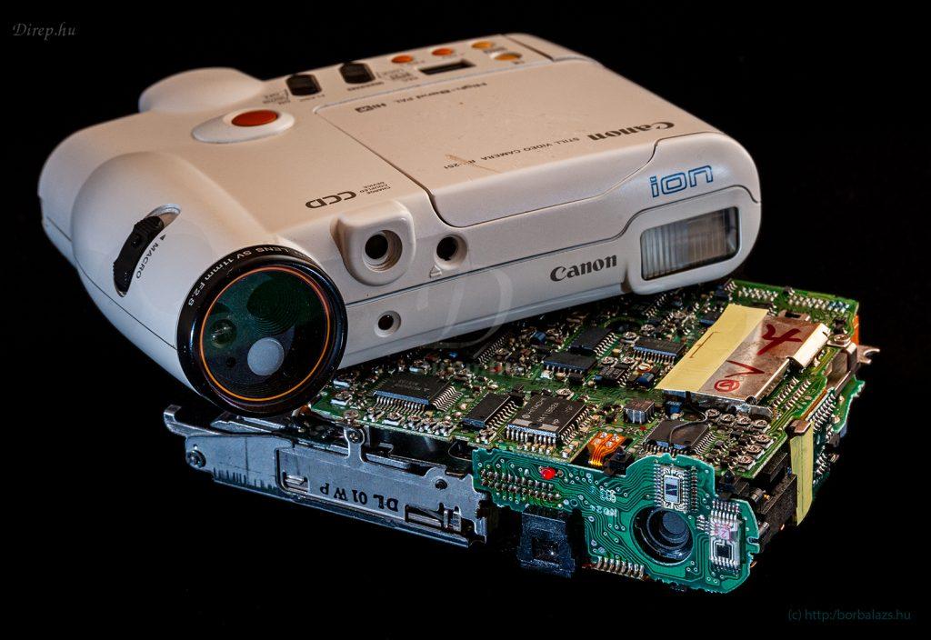 Elektronikus fényképezőgépek