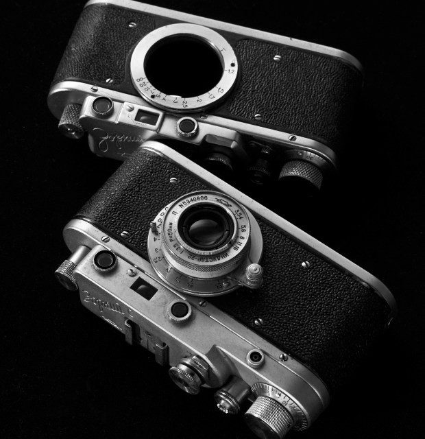 (Hungarian) Kisfilmes távmérős fényképezőgépek